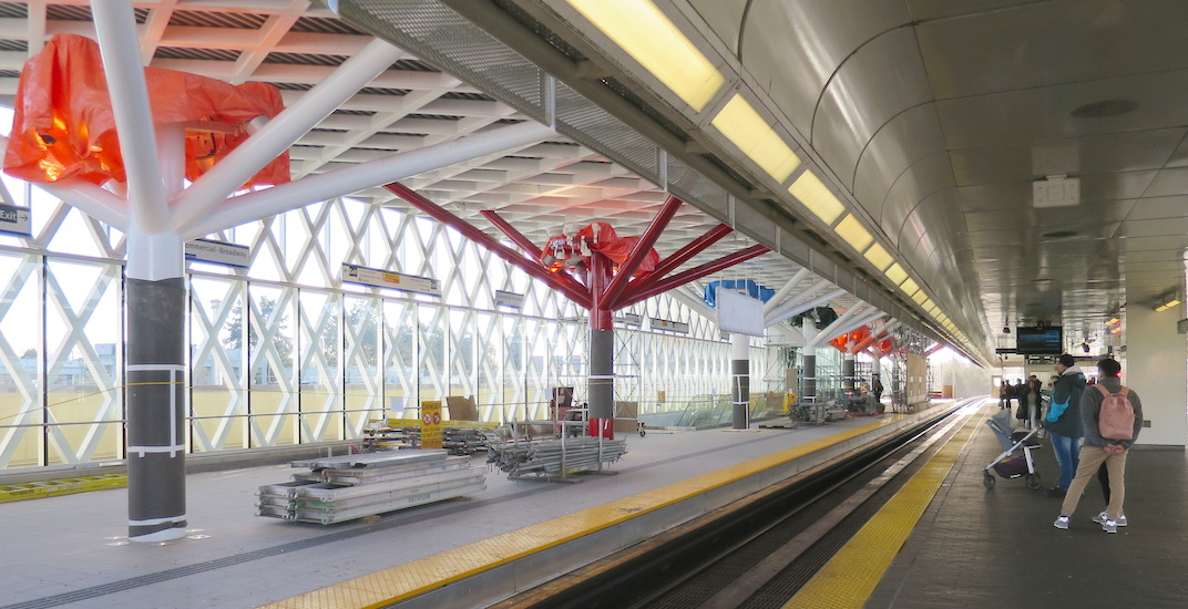Commercial-Broadway Station's new additional platform to open on February 2