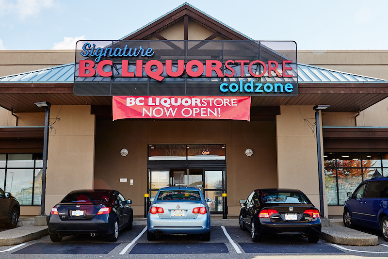 Cloverdale BC Liquor Store
