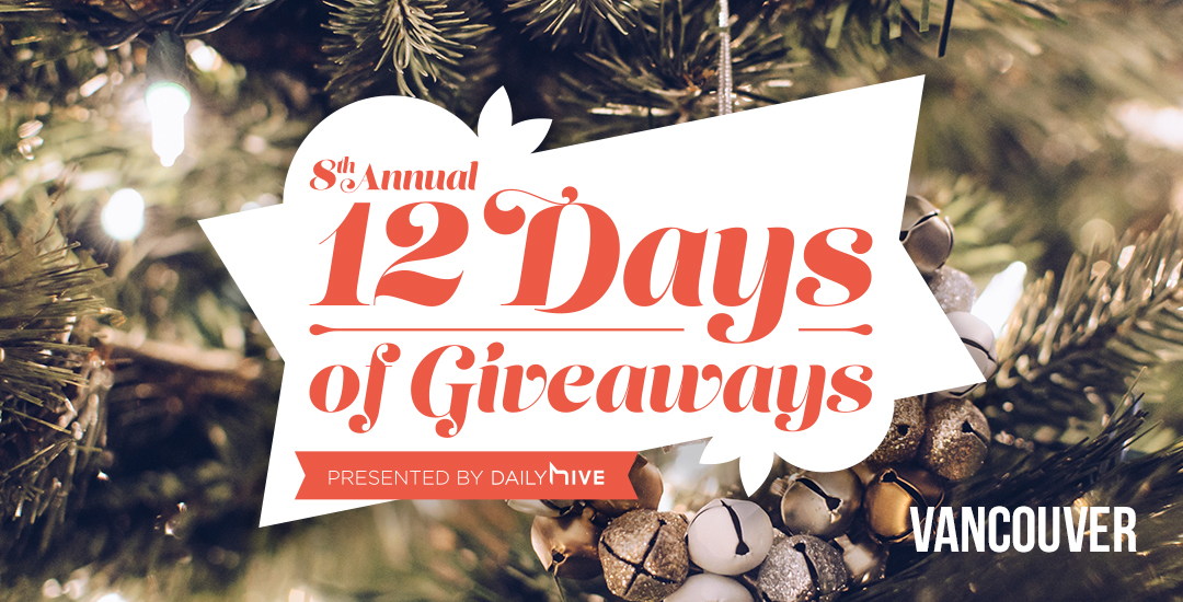 More than $50,000 in prizes in our annual 12 Days of Giveaways