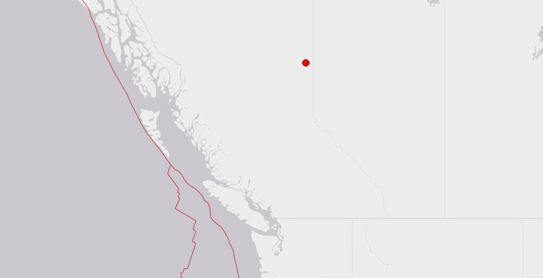 Magnitude 4.2 earthquake strikes inland British Columbia