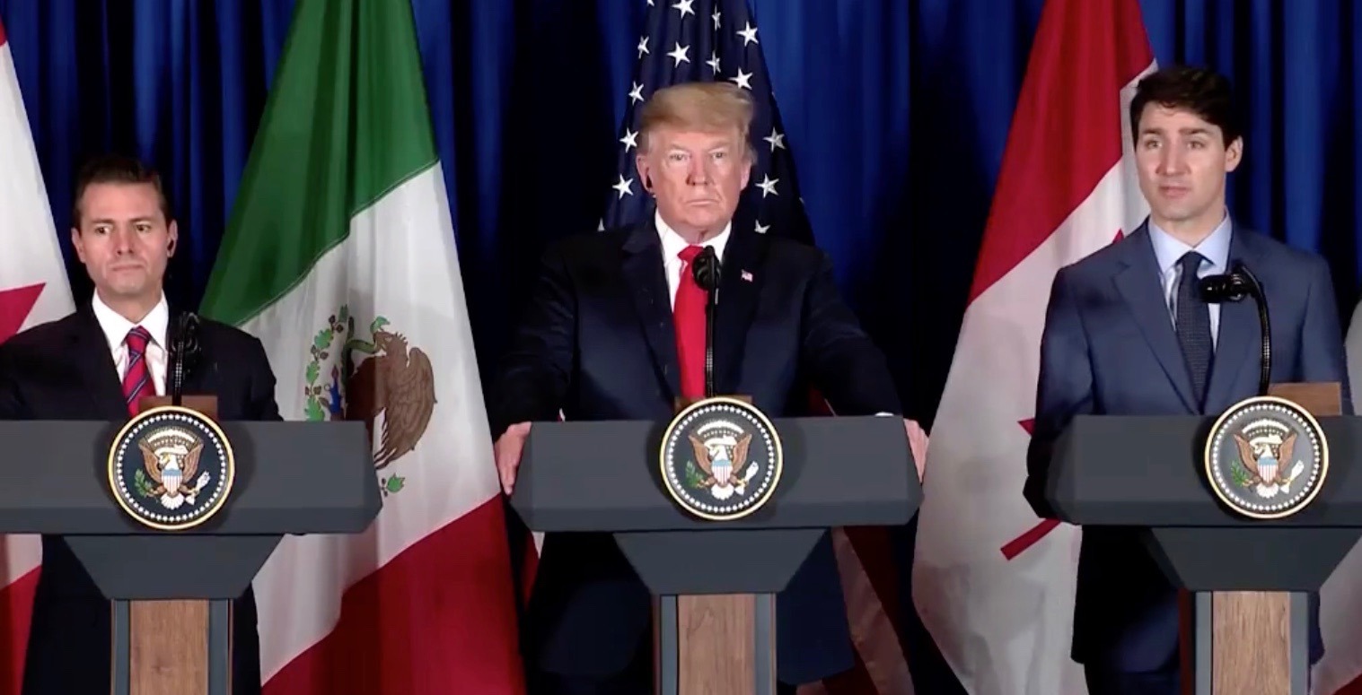 Canada, US, and Mexico officially sign new trade agreement this morning