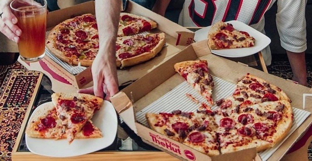 Pizza Hut is offering buy-one-get-one FREE pizzas for a limited time
