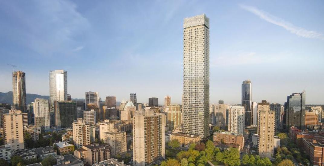 60-storey 'pixelated' tower proposal for Vancouver's West End to be revived