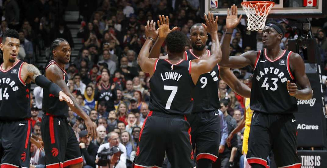 Raptors-Warriors game sets Canadian television viewing record