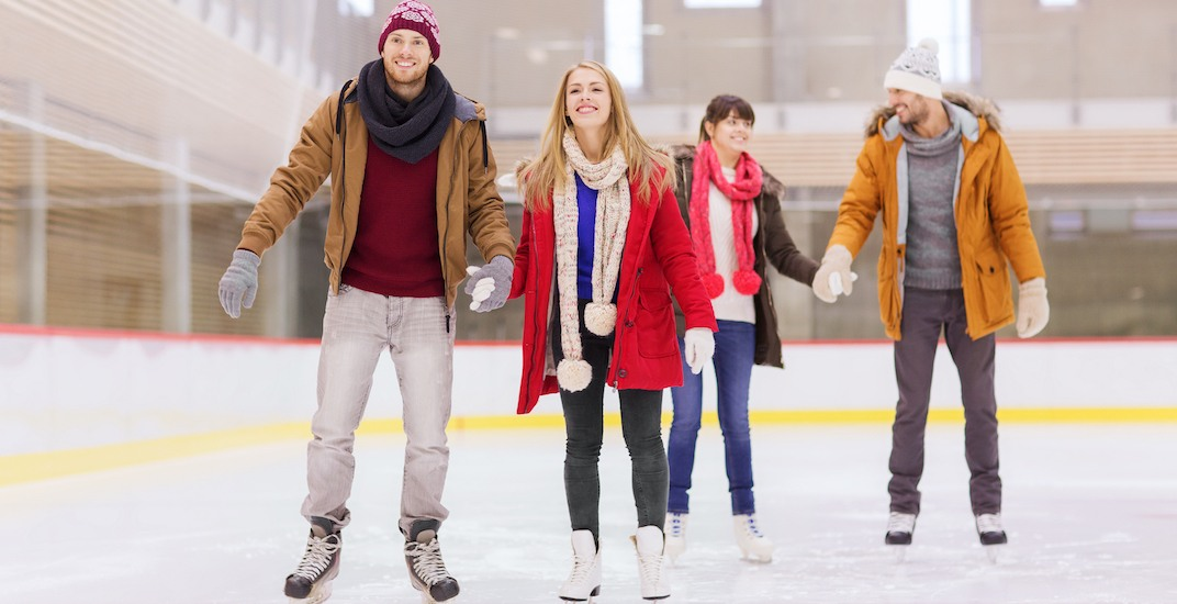 You can ice skate for FREE at 2 Vancouver rinks this weekend