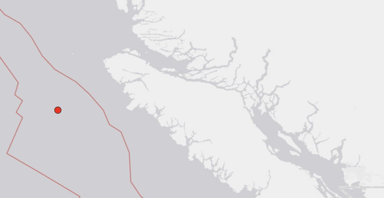 Magnitude 4.7 earthquake strikes Vancouver Island coast