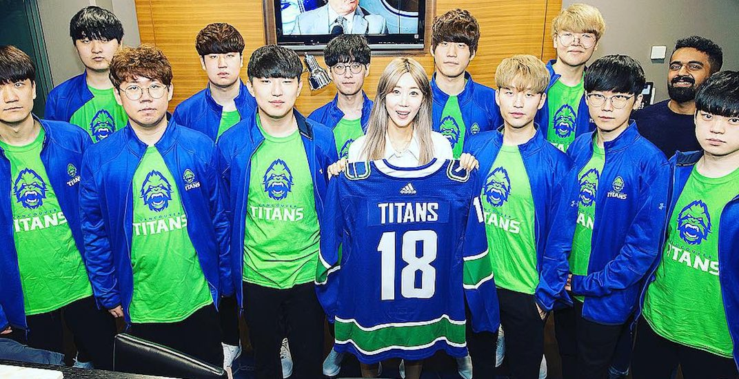 Canucks unveil Vancouver's new pro eSports team name and logo