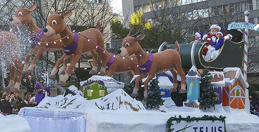 18 festive photos and videos of the 2018 Vancouver Santa Claus Parade