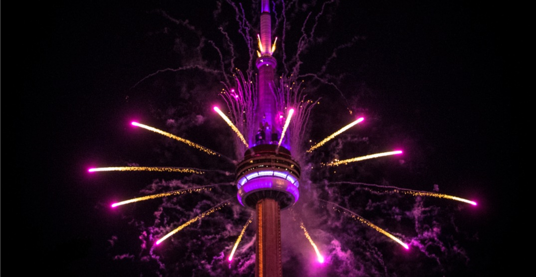 You can celebrate New Year's Eve at the CN Tower this year