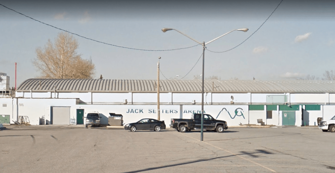 Jack Setter Arena temporarily closed due to potentially dangerous roof