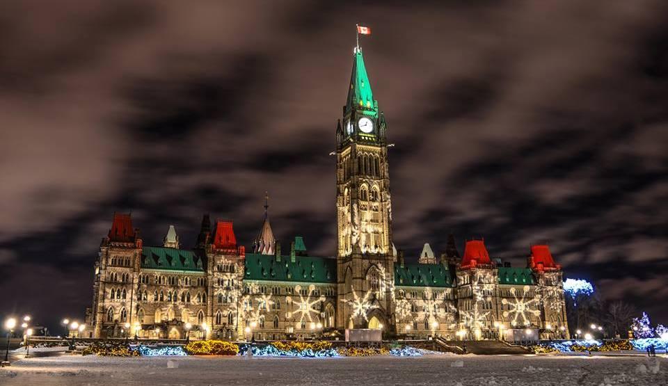 Christmas lights across canada. ottawa tourism facebook