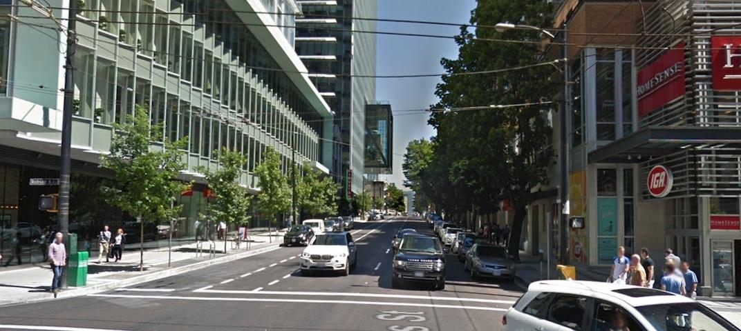 Richards Street Vancouver