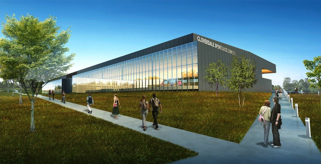 Surrey cloverdale sport and ice complex