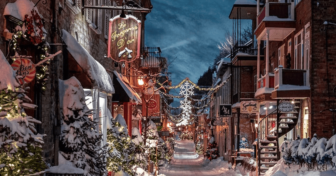 Canada ranked #1 most Christmassy country in the world