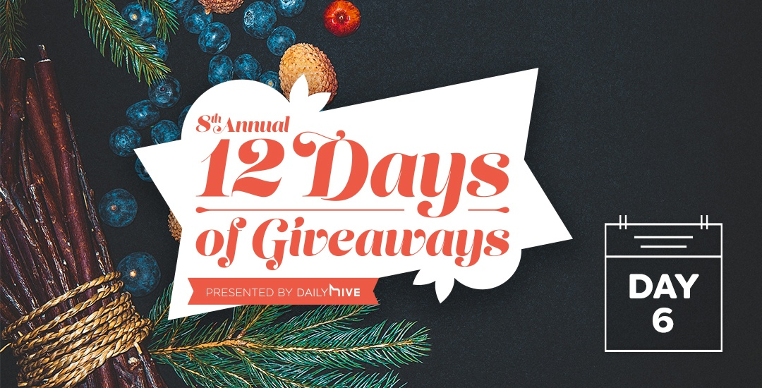 12 Days of Giveaways: Eat your heart out with $1,000 from Uber Eats