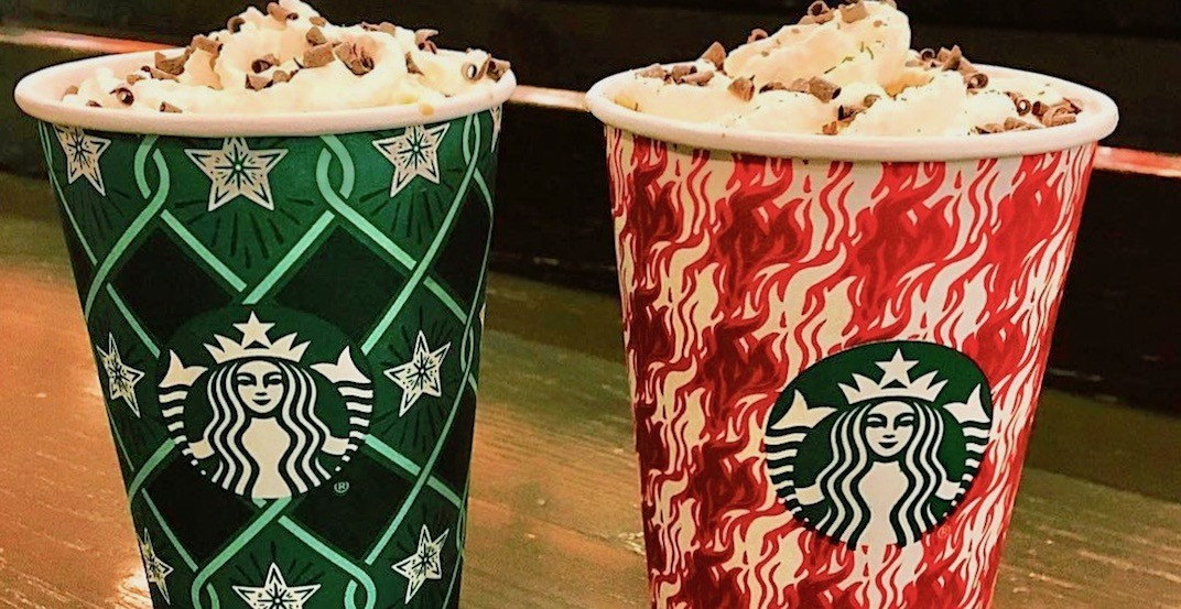 Starbucks is offering buy-one-get-one FREE holiday drinks December 6