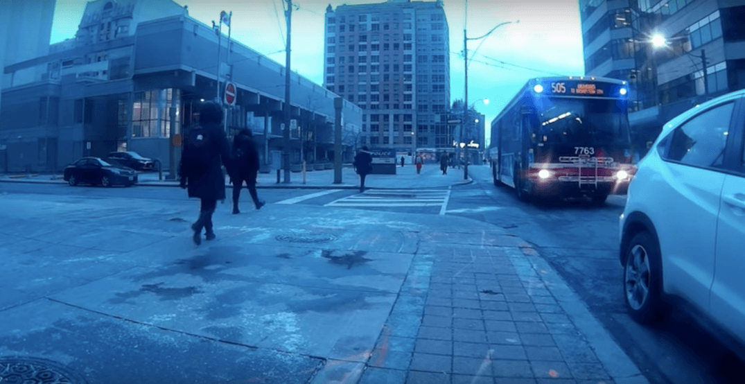 Video perfectly captures the selfishness that leads to typical Toronto traffic jam