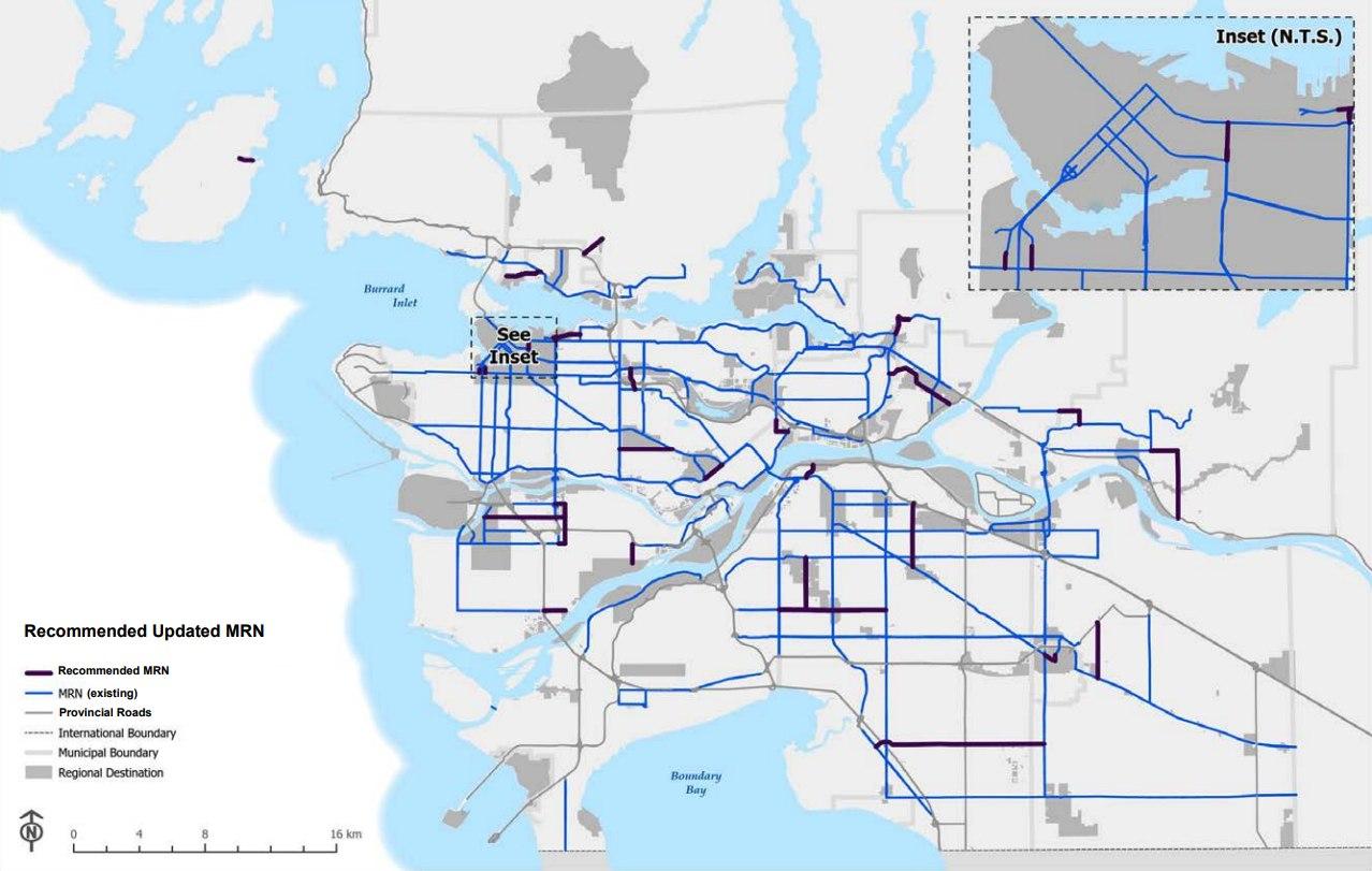 TransLink Major Road Network