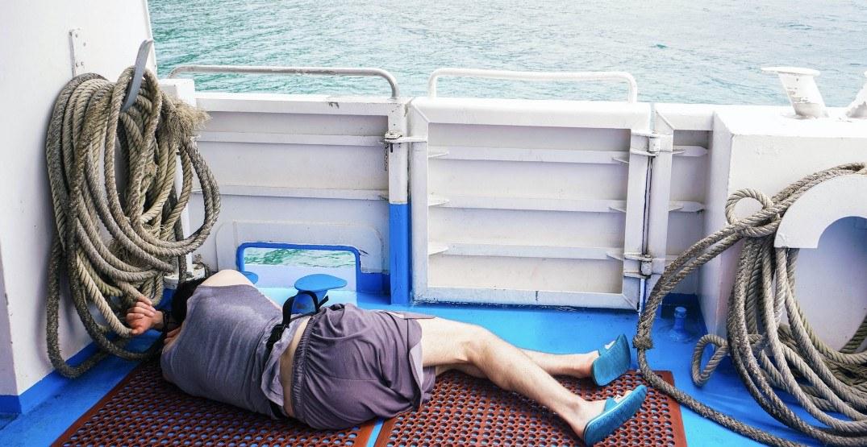 Drunk sleeping boater arrested after police spot vessel doing doughnuts