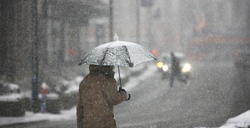 rain and wet snow