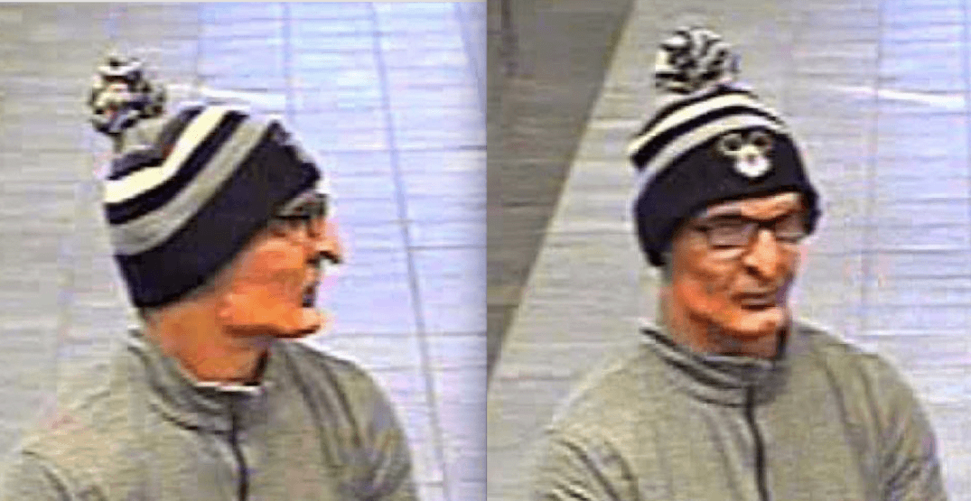 This man robbed a bank in Leduc while wearing a nightmarish mask