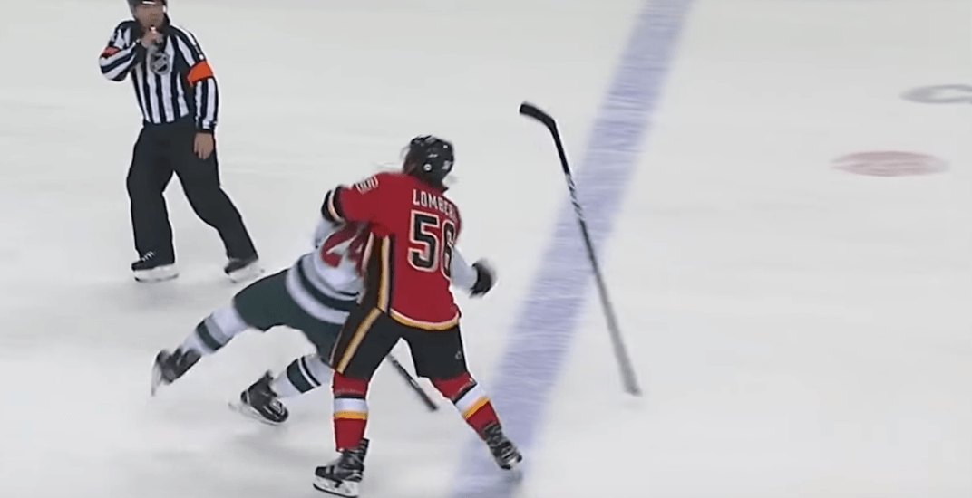 Flames players and coach in trouble with NHL following game with Wild