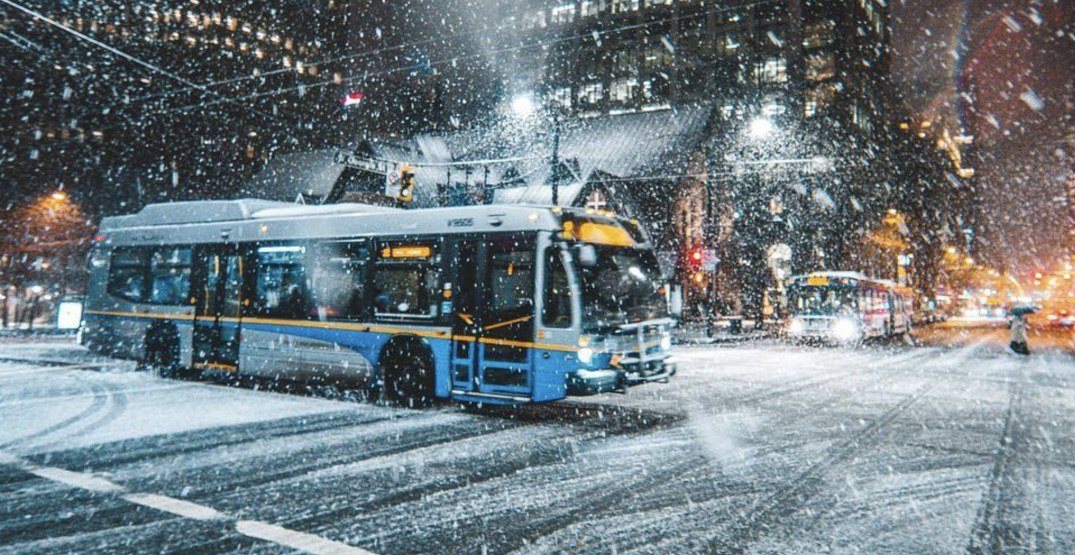 TransLink activates 'snow plan' ahead of forecasted snowfall