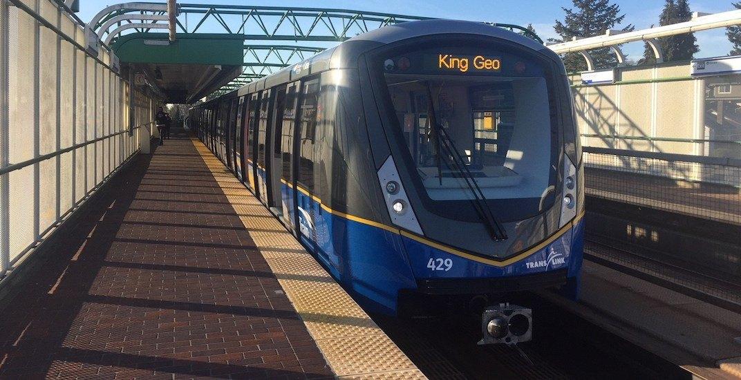 New SkyTrain car train Mark III