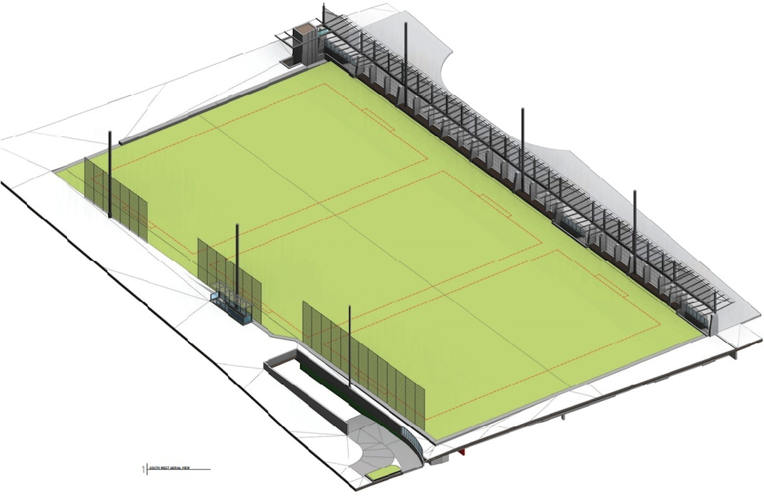 New Replacement Ubc Macinnes Field To Be Built On Top Of