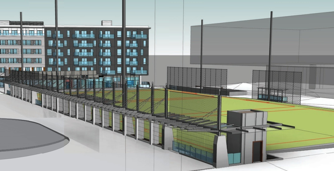 New replacement UBC MacInnes Field to be built on top of parkade