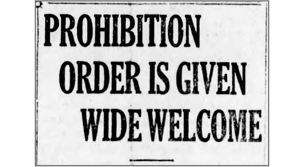 1918: The year Vancouver got prohibition for Christmas