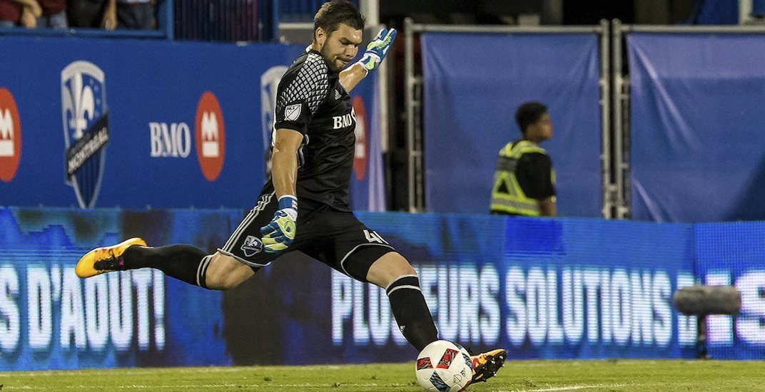 Whitecaps agree to a trade with Montreal for a new goalkeeper