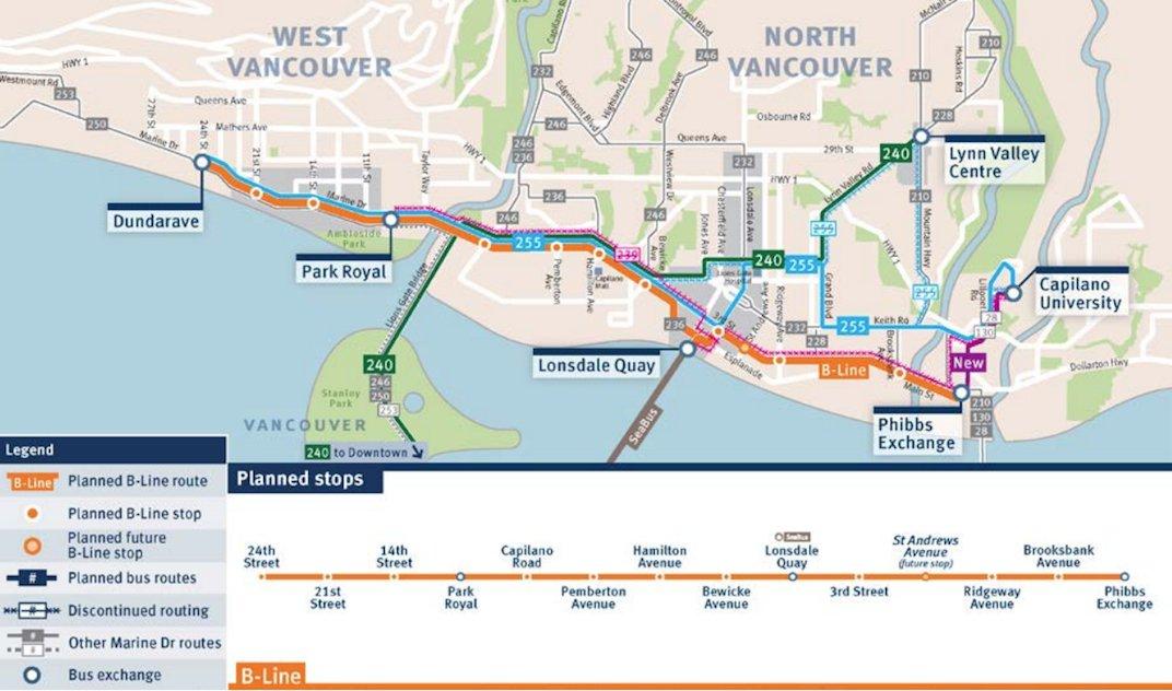 TransLink North Shore B-Line