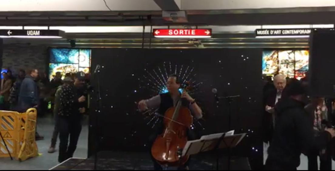 World-renowned cellist Yo-Yo Ma performs free show in Montreal metro station (VIDEO)