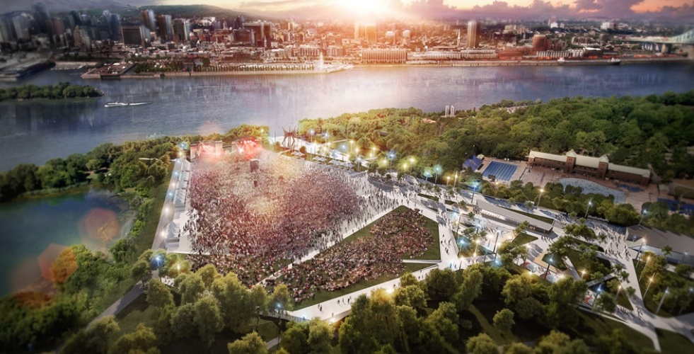 The newly renovated Parc Jean-Drapeau will open in 2019 (RENDERINGS)