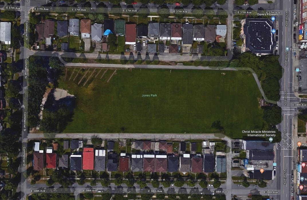 Jones Park Vancouver