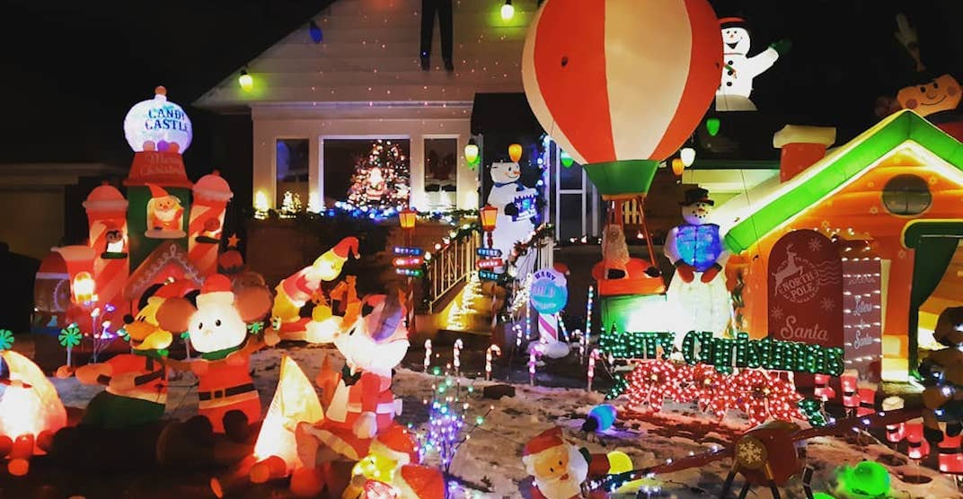This Toronto house's holiday display is a must-see (PHOTOS)