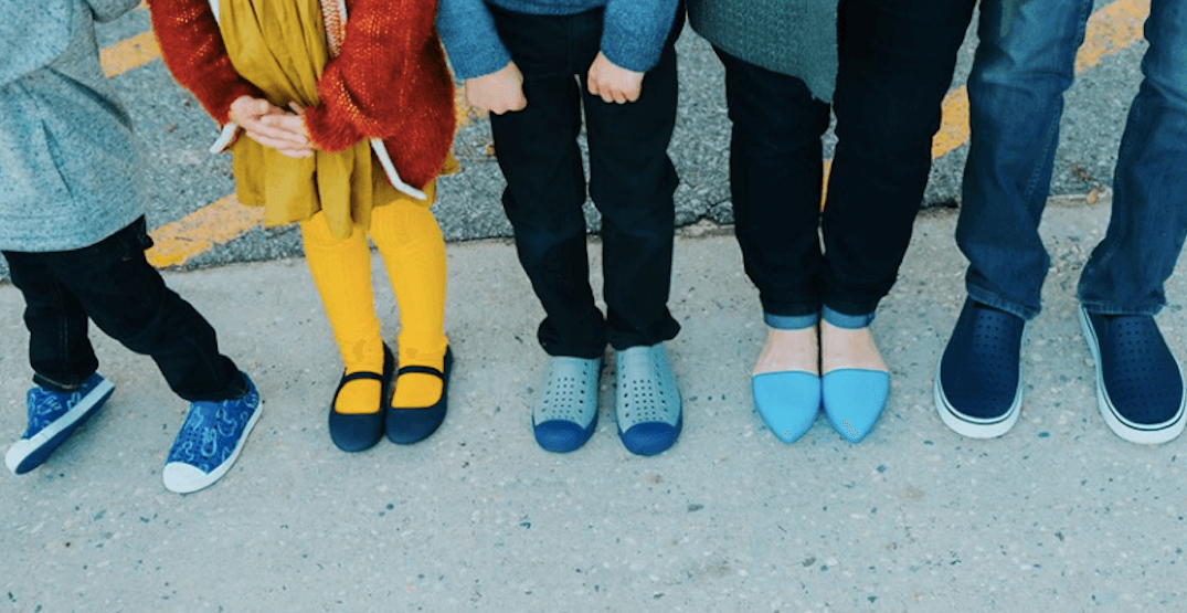 This Vancouver company is using its old shoes to make new playground flooring