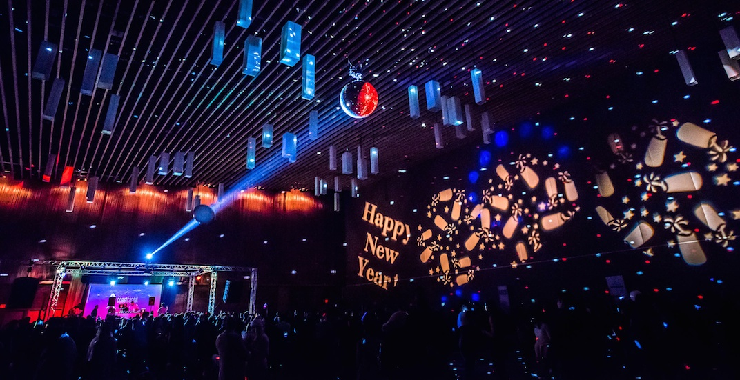 Ring in 2019 at Vancouver's only indoor New Year's Eve party with fireworks