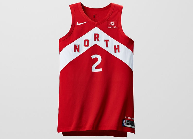 cheaper 29ec9 6fa6b Nike unveils new Raptors jersey as a reward for making the ...