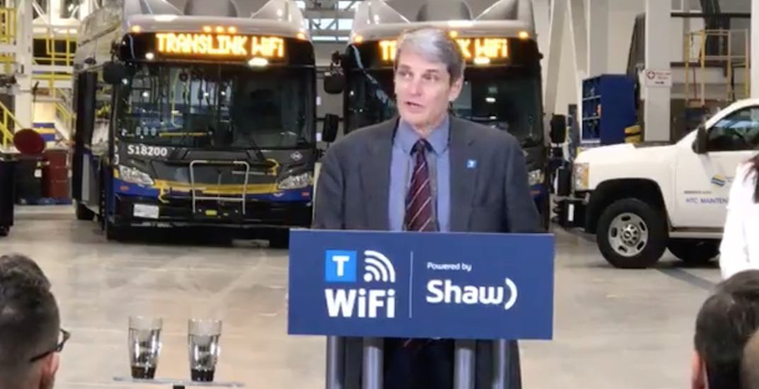 TransLink announces free Wi-Fi for the entire public transit system