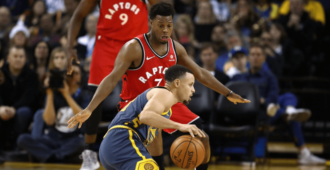 Raptors blow out the Warriors without Kawhi Leonard