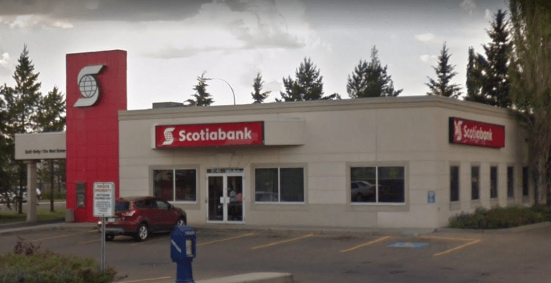 Edmonton bank robber sets off explosion, sends armoured guards to hospital