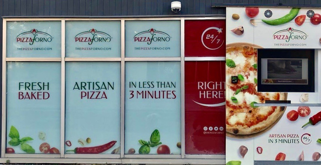 Canada's getting its first-ever pizza vending machine flagship