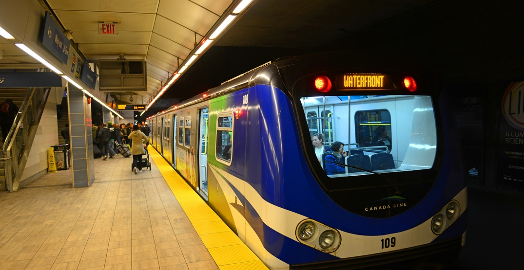 Track issue causes morning delays on Canada Line: TransLink