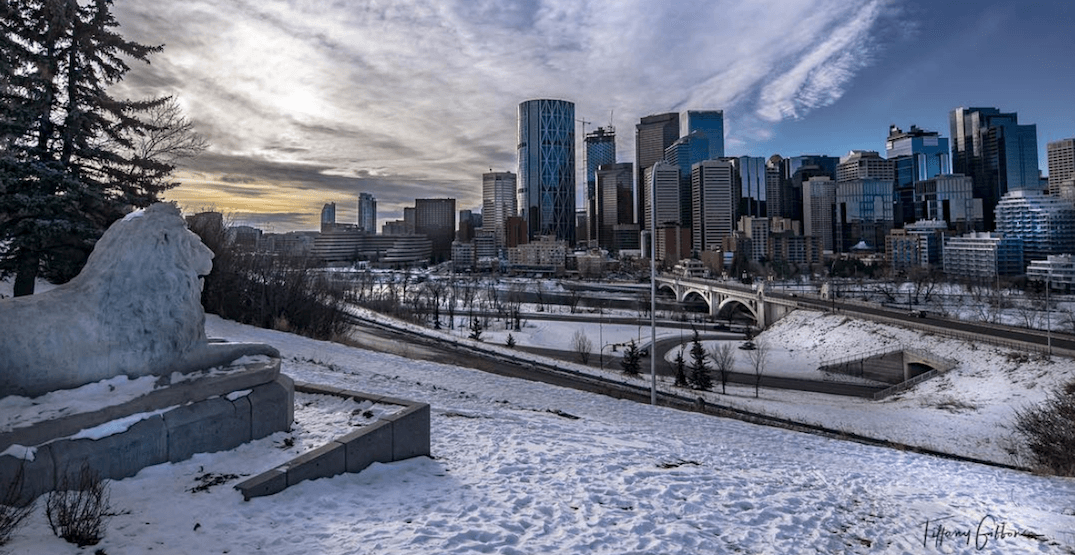 The Weather Network just doubled its snowfall forecast for Calgary