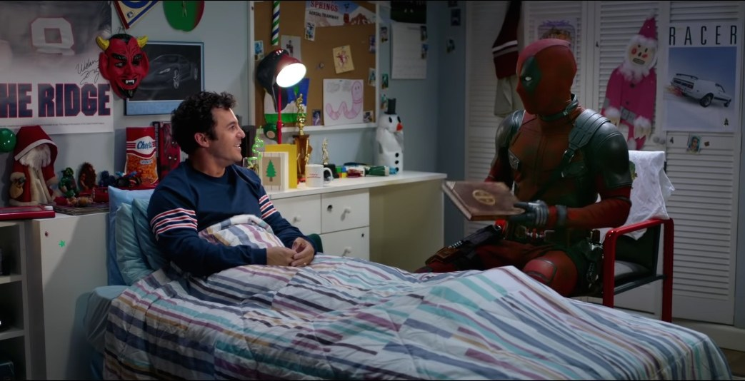 Deadpool claps back when Fred Savage tries to bash Nickelback (VIDEO)
