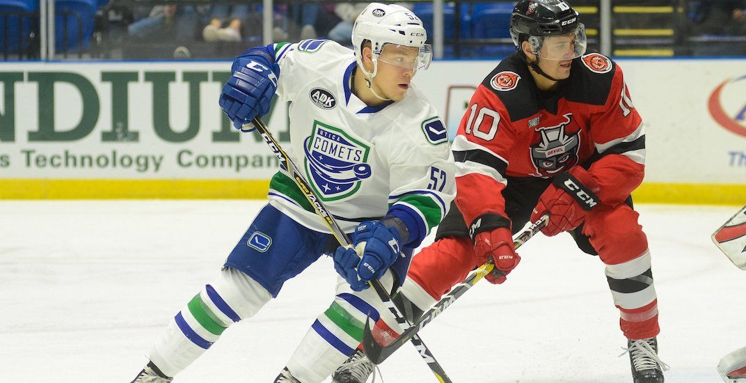 Canucks prospect Palmu is heading back to Finland
