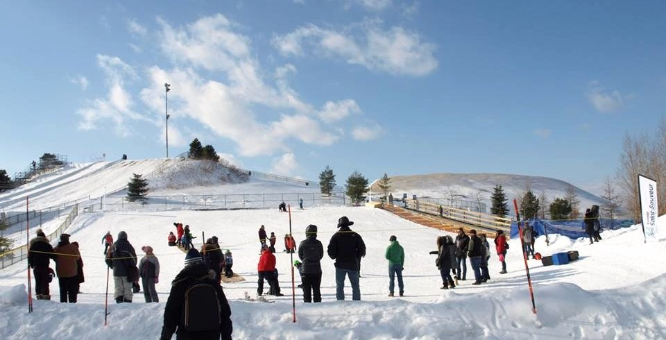Montreal's FREE man-made ski hill opens for the winter season on December 21