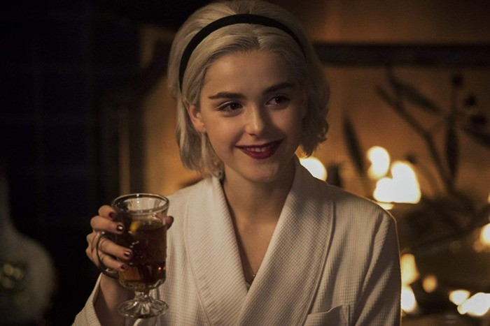 The Sabrina holiday special with a dark twist just hit Netflix